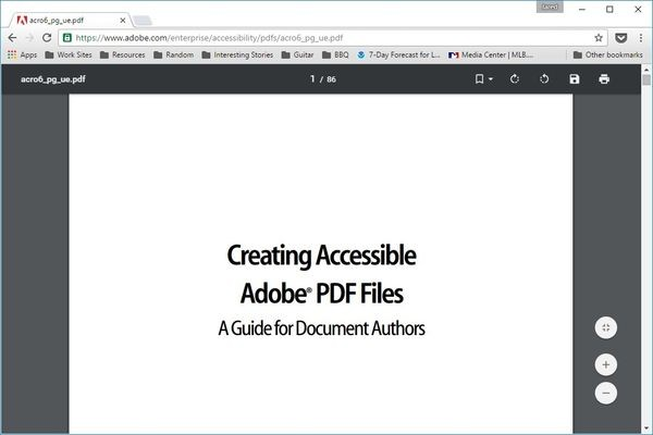 просмотрщик PDF-файлов