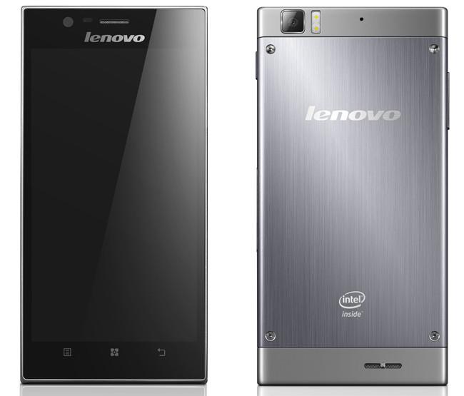 CES 2013: Lenovo показала 5,5-дюймовый смартфон на двухъядерном процессоре Intel Atom