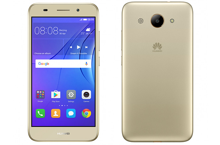 Huawei представила в России смартфон Y3 2017 за 5990 рублей