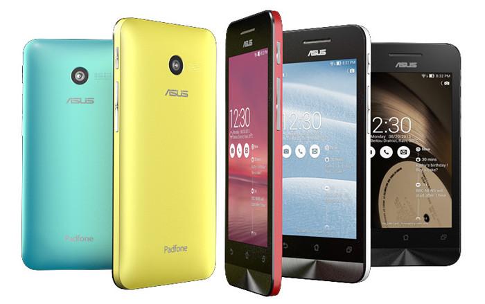 CES 2014. Линейка «атомных» смартфонов Zenfone от ASUS