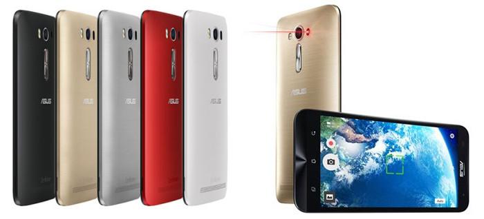 ASUS представила в России смартфон ZenFone 2 Laser