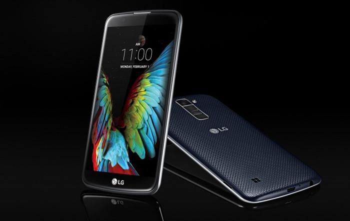 CES 2016. LG представляет смартфоны среднего класса серии K