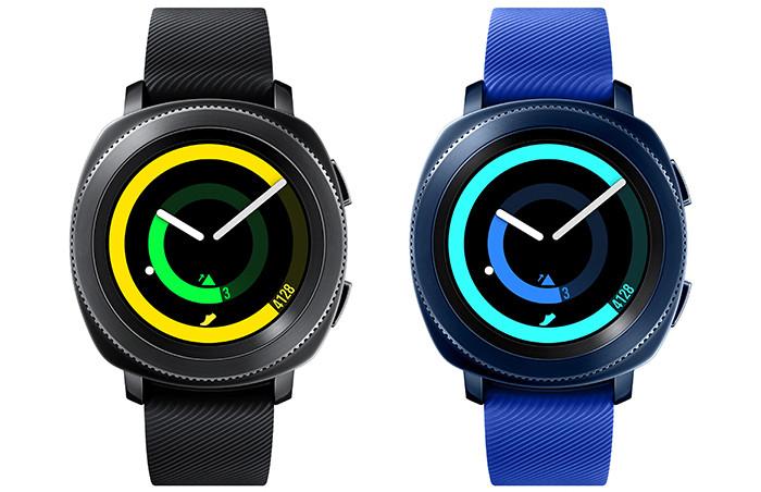Samsung представила в России смарт-часы Gear Sport для пловцов и любителей фитнеса