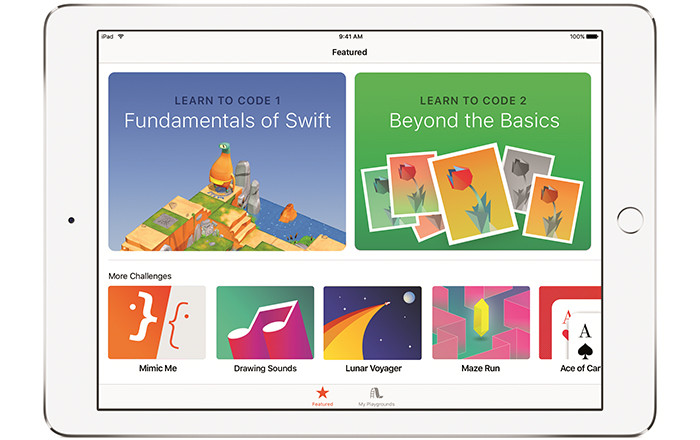 WWDC 2016. Apple представила iPad-приложение Swift Playgrounds для обучения программированию