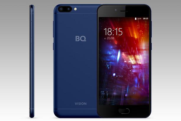 BQ-5203 Vision: бюджетный смартфон с двойной задней камерой и Android 7.0 Nougat