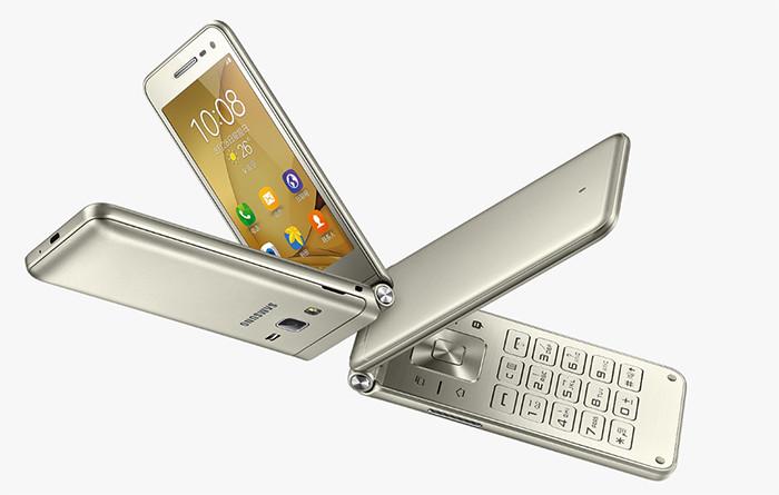 Представлен раскладной Android-смартфон Samsung Galaxy Folder 2