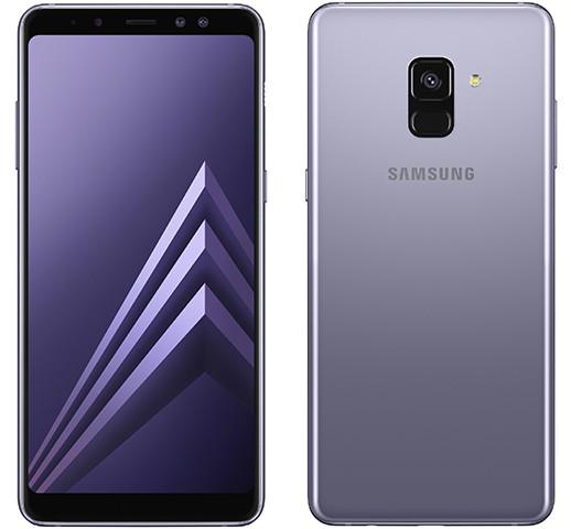 Samsung представляет стеклянные смартфоны Galaxy A8 и Galaxy A8+ с двойными фронтальными камерами
