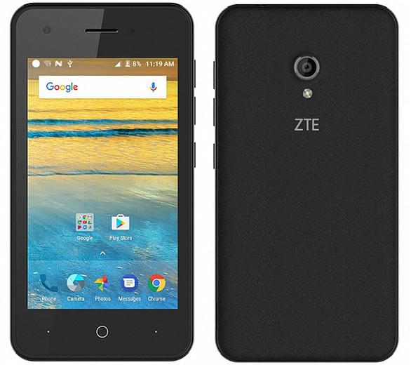 ZTE привезла в Россию смартфон дешевле 3 тысяч рублей