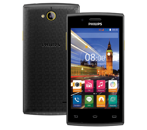 Philips S307: 4-дюймовый Android-смартфон за 4 990 рублей