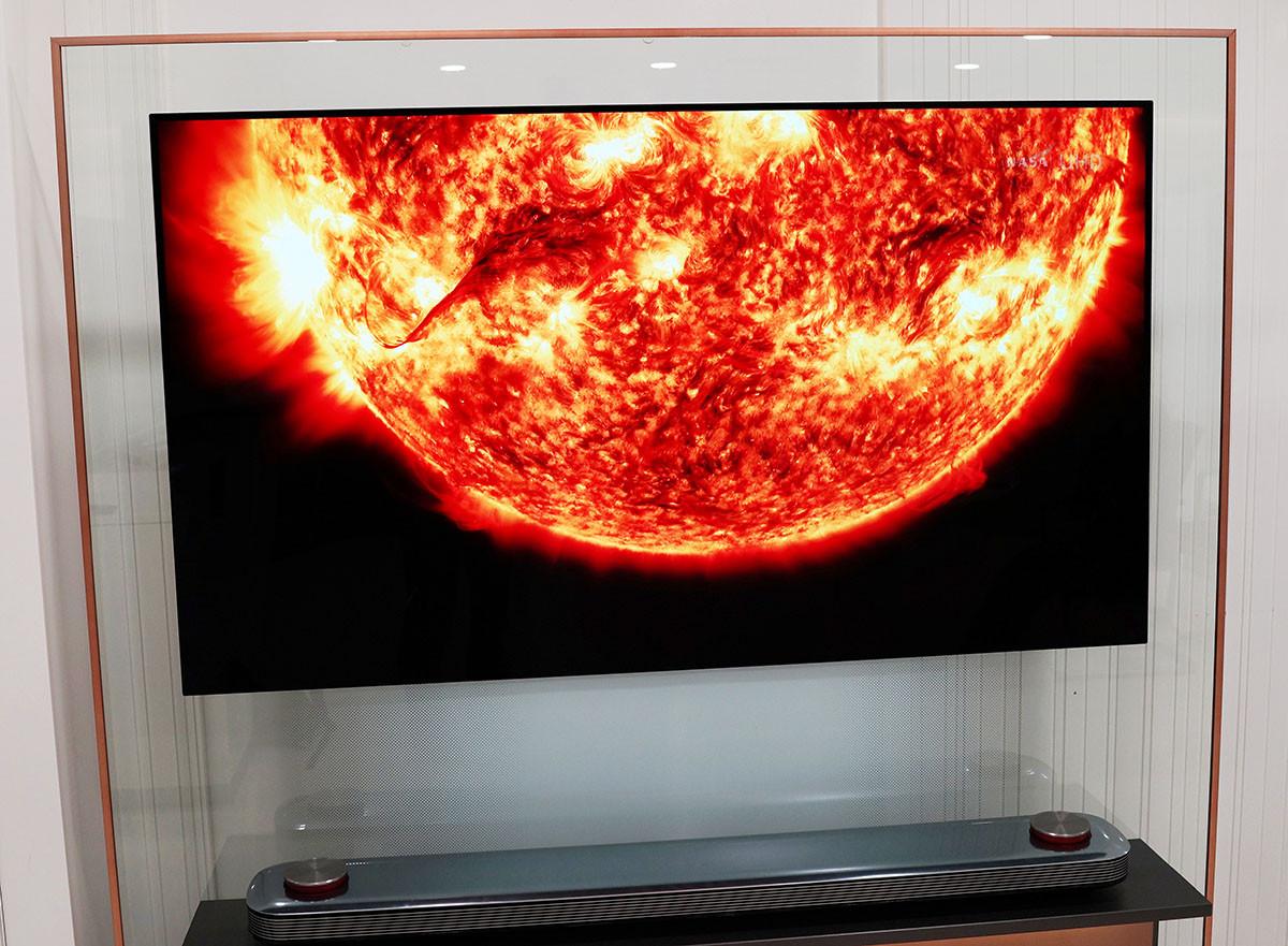 телевизор LG W7 обзор