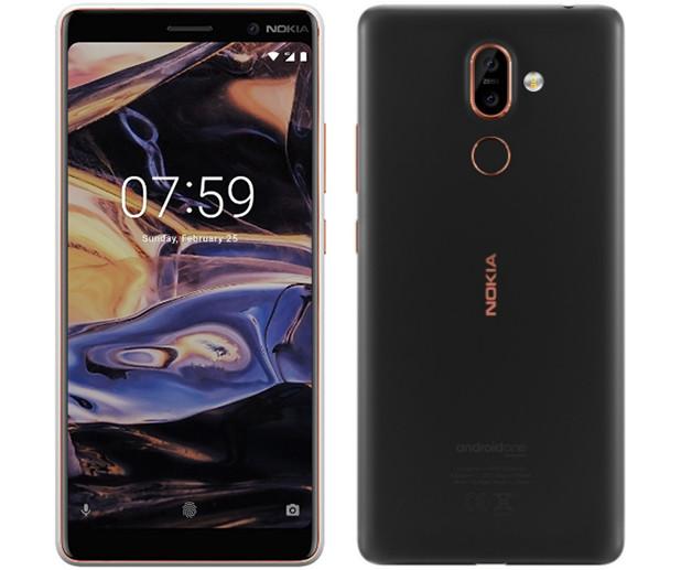 MWC 2018. Состоялась презентация смартфонов Nokia 8 Sirocco, Nokia 7 Plus и Nokia 6 2018