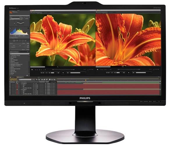 Представлен 23,8-дюймовый монитор Philips 241P6VPJKEB с поддержкой 4K-разрешения