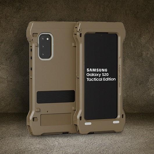 Samsung представила необычный ультразащищенный смартфон для военных и спецслужб