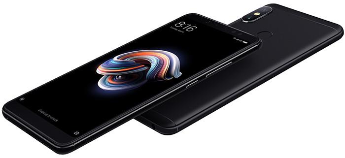 В России представили смартфон Xiaomi Redmi Note 5 с 6-дюймовым экраном и батареей на 4000 мАч