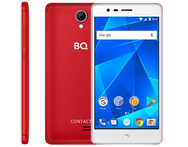 BQ 5001L Contact стал самым дешевым смартфоном с NFC на российском рынке