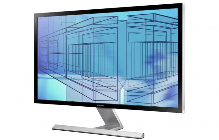 Samsung U28D590: 28-дюймовый компьютерный монитор с разрешением Ultra HD