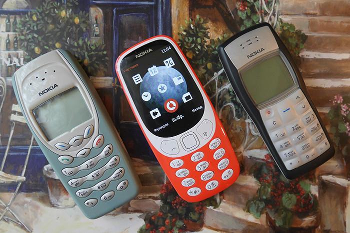 Nokia 3410, Nokia 3310 2017, Nokia 1100