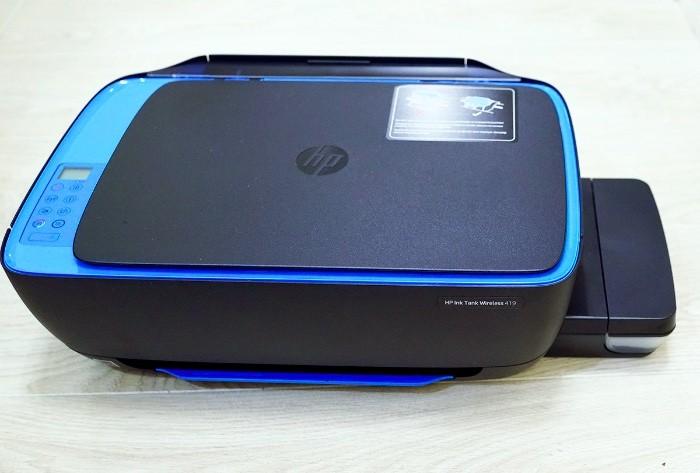 Обзор HP Ink Tank Wireless 419