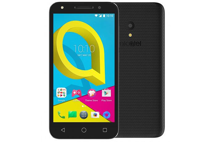 До России добрался бюджетный смартфон Alcatel U5 за 4990 рублей