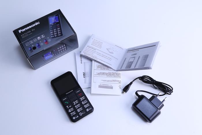 Обзор кнопочного телефона Panasonic KX-TU150