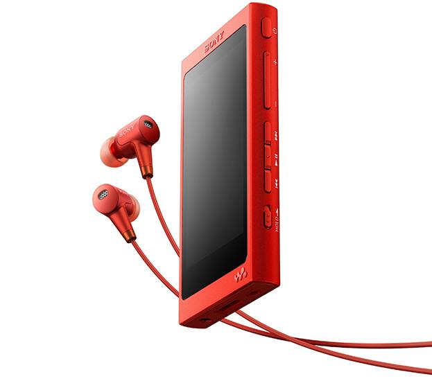 CES 2017. Сенсорный плеер Sony Walkman NW-A35 с поддержкой аудио высокого разрешения
