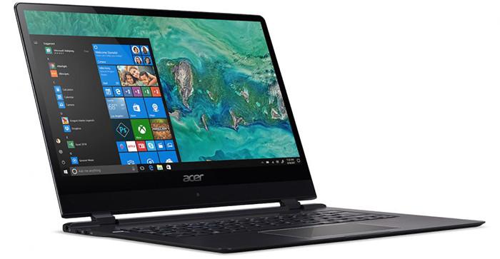 CES 2018. Новинки Acer: самый тонкий ноутбук в мире с LTE, хромбуки и геймерские лэптопы