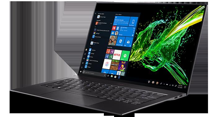 Acer привезла в Россию 14-дюймовый ноутбук Swift 7 весом в 890 г и толщиной менее сантиметра