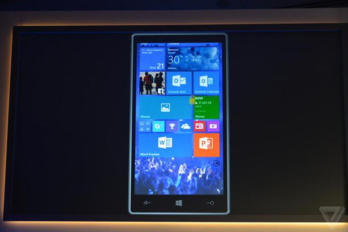 Windows 10: подробности с презентации
