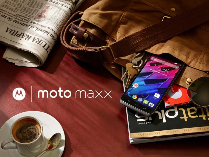 Представлен флагманский смартфон Motorola Moto Maxx с QHD-экраном и 21-мегапиксельной камерой