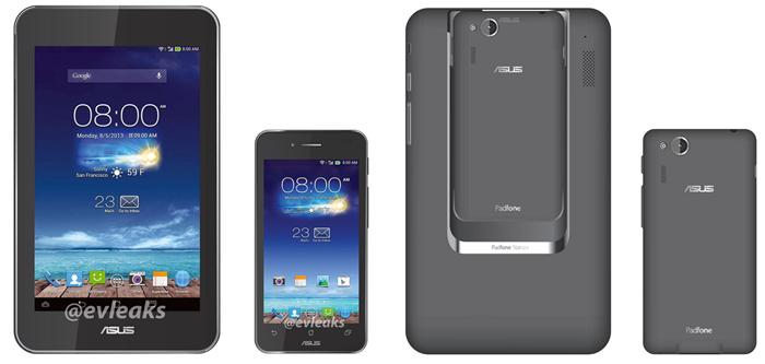 ASUS Padfone Mini: компактный смартфон с док-станцией в виде 7-дюймового планшета