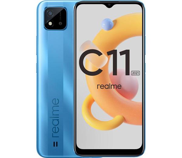 В РФ неожиданно приехал смартфон realme C11 2021 с огромным экраном и 5000 мАч. И его можно купить со скидкой