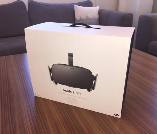 Начались продажи шлема виртуальной реальности Oculus Rift