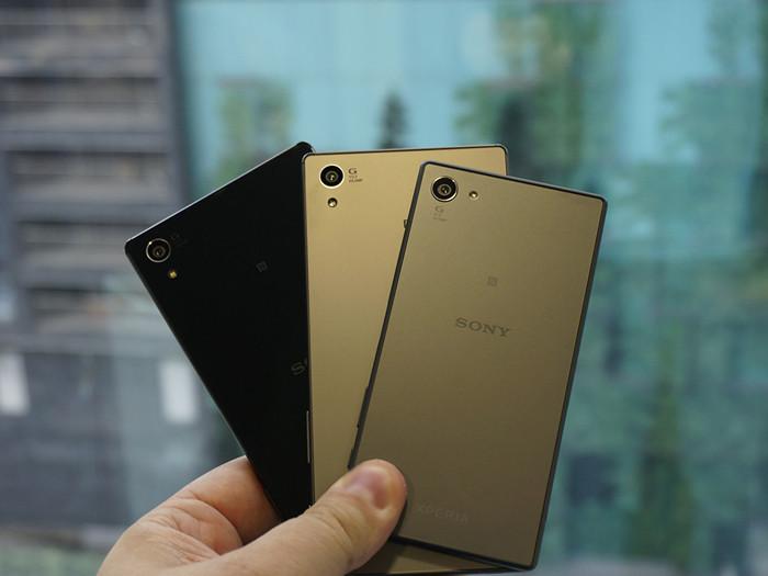 IFA 2015: Первый взгляд на Sony Xperia Z5, Xperia Z5 Compact и Xperia Z5 Premium