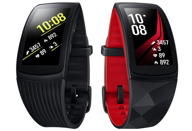 В России начинаются продажи фитнес-браслета Samsung Gear Fit 2 Pro с GPS и AMOLED-экраном