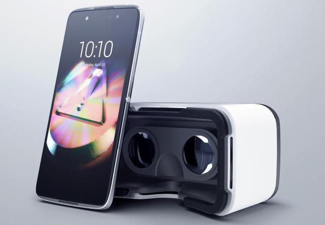 Windows-смартфон Alcatel Idol 4s будет поставляться с VR-очками
