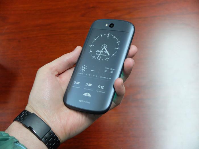 Разработку YotaPhone перенесут в Китай