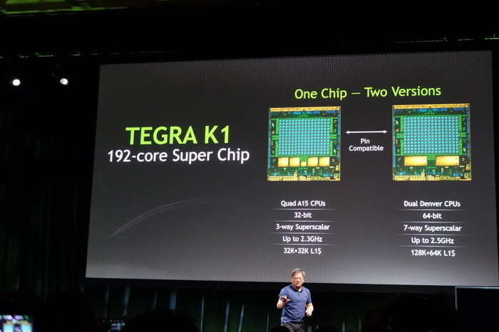Разработчики смартфонов избегают nVidia Tegra K1