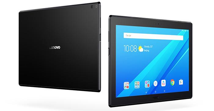 До России добрались планшеты Lenovo Tab 4 в корпусах из пластика и стекла