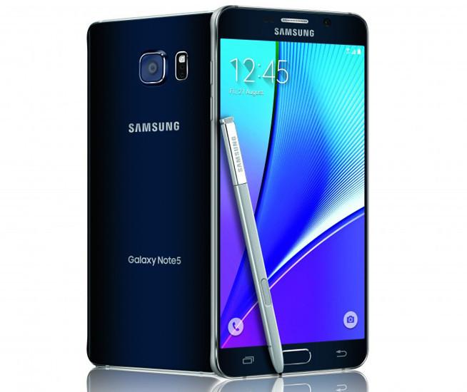 В России представлены фаблет Samsung Galaxy Note 5 и смарт-часы Gear S2