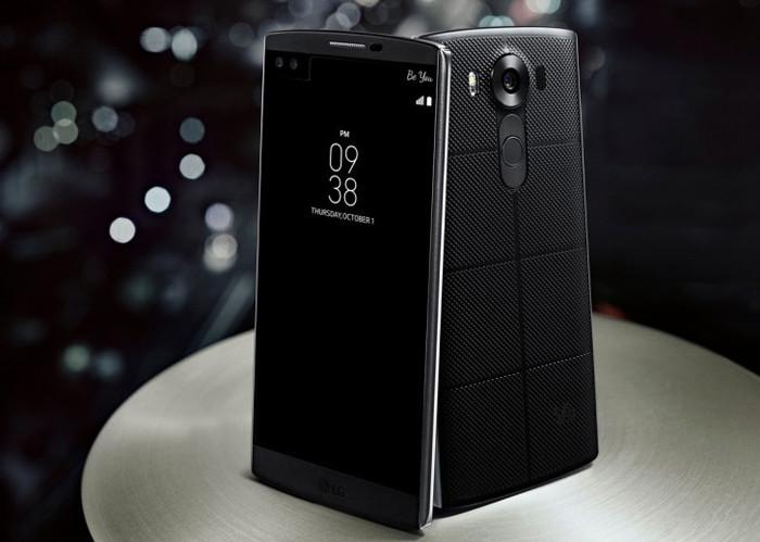 Смартфон LG V10 с двумя экранами оценили в 59 990 рублей