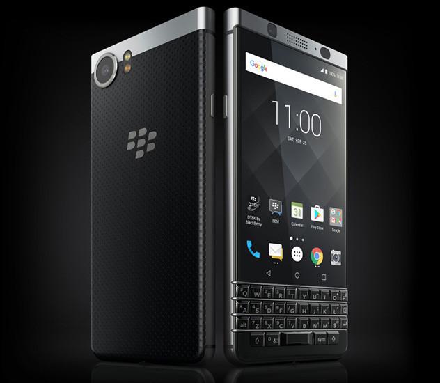 BlackBerry вернулась в Россию с клавиатурным смартфоном KEYone