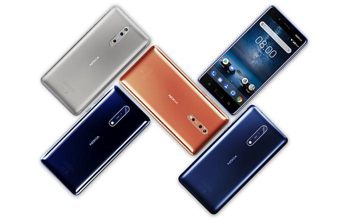 В четвертом квартале 2017 года Nokia продала больше смартфонов, чем Lenovo, OnePlus, Sony и Google