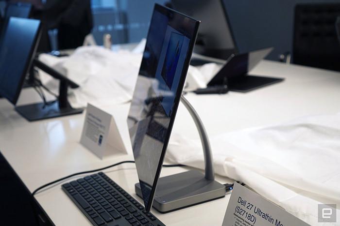 CES 2017. Dell представляет ультратонкий ЖК-монитор Dell 27 Ultrathin
