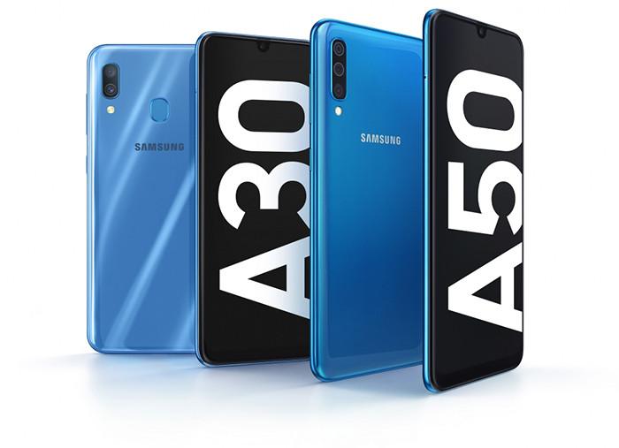 MWC 2019. Samsung представляет смартфоны среднего класса Galaxy A30 и A50 с батареями на 4000 мАч