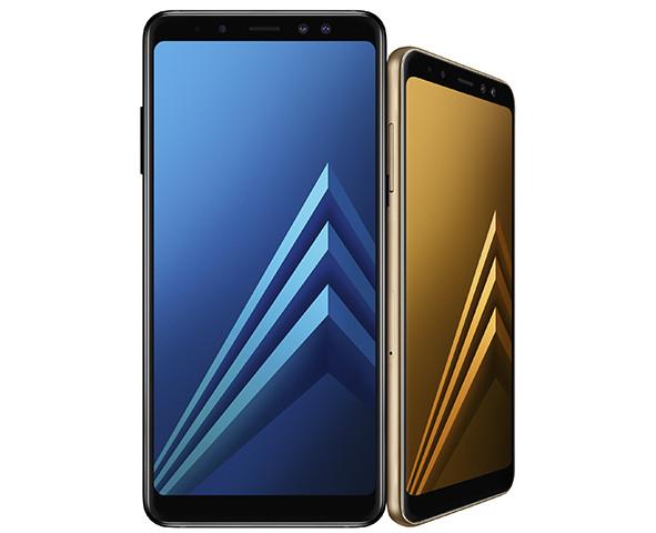 Названы российские цены новейших смартфонов Samsung Galaxy A8 и Galaxy A8+