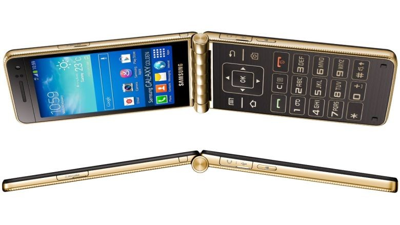 Samsung готовит к выпуску смартфон-раскладушку Samsung Galaxy Golden 3