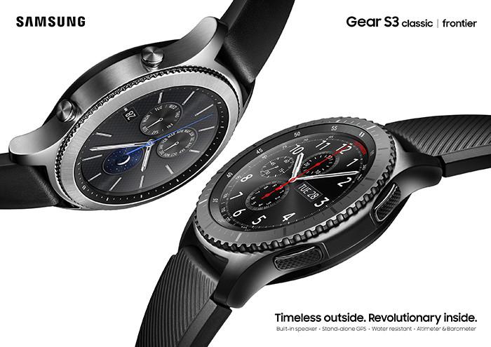 Продажи умных часов Samsung Gear S3 поступят в продажу в ноябре