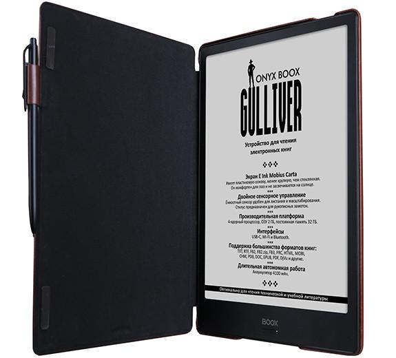 В России начались продажи гигантского букридера ONYX BOOX Gulliver с неубиваемым экраном
