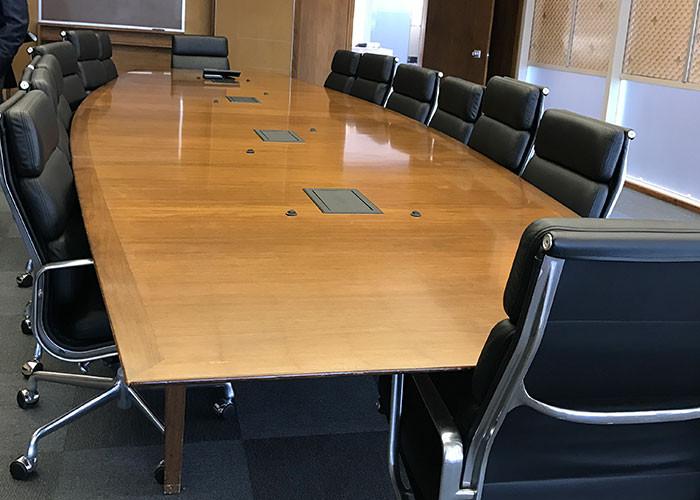 Исторический зал заседания совета директоров HP