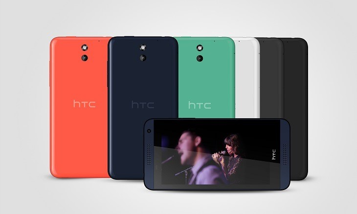 MWC 2014. HTC представляет смартфоны среднего класса Desire 816 и Desire 610